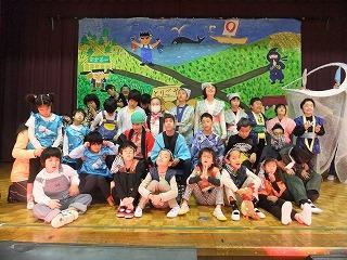 小学部 劇の様子