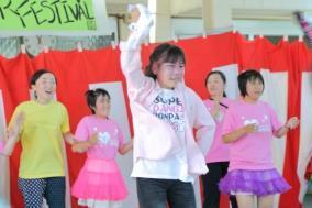 ダンスサークルの発表の写真